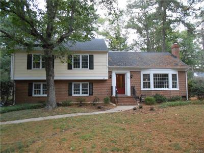 Henrico Single Family Home For Sale: 8904 Wishart Road