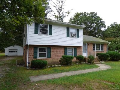 Midlothian Single Family Home For Sale: 14031 S Carriage Lane