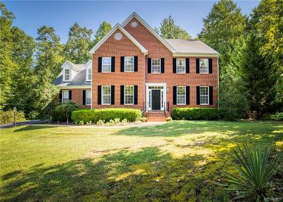 Chesterfield Single Family Home For Sale: 13612 Mountcastle Road