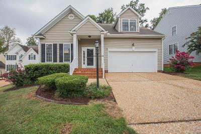 Chesterfield VA Single Family Home For Sale: $299,000