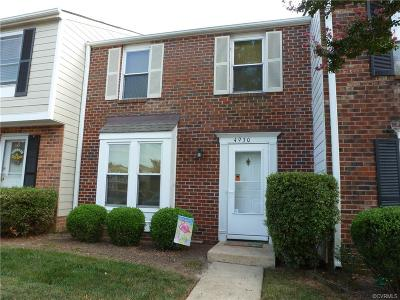 Henrico County Condo/Townhouse For Sale: 4930 Finnegan Court