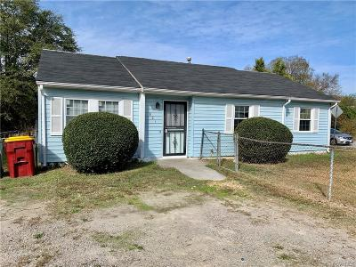 Single Family Home For Sale: 901 N Gillfield Drive