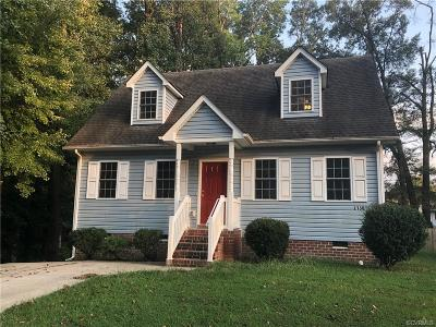 Hopewell Single Family Home For Sale: 2130 Dublin Street