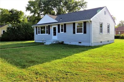 Henrico County Single Family Home For Sale: 3318 Croydon Road