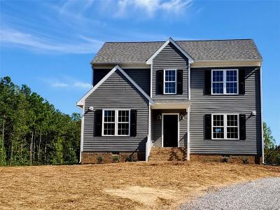 Dinwiddie Single Family Home For Sale: 18951 Lundys Road