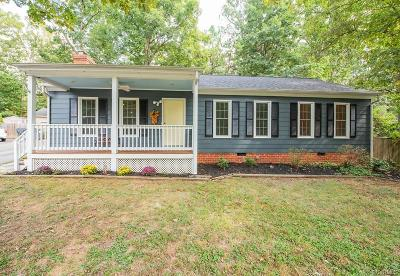 Midlothian Single Family Home For Sale: 2857 Iverson Road