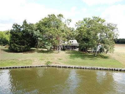 Single Family Home For Sale: 4028 Wellfords Wharf Road