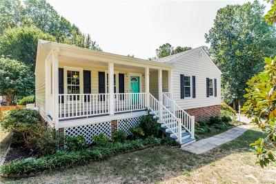 Midlothian Single Family Home For Sale: 7117 Deer Thicket Drive