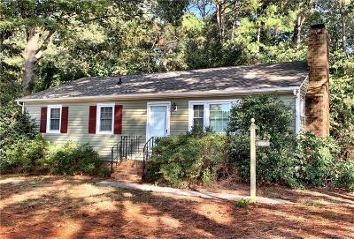 Chester Single Family Home For Sale: 13423 Old Stage Road