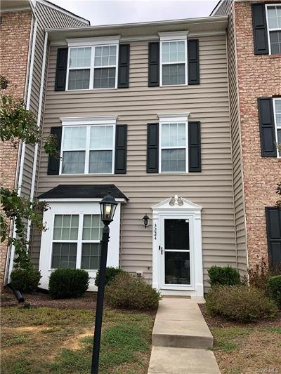 Chester Condo/Townhouse For Sale: 3224 Perdue Springs Lane