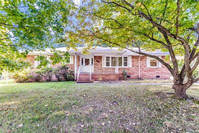 Single Family Home For Sale: 6008 Monument Avenue