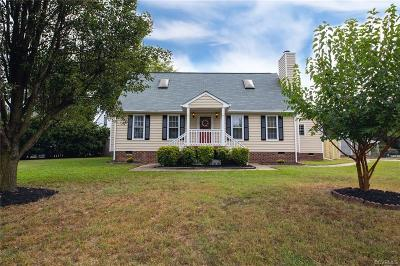 Chester Single Family Home For Sale: 4000 Hilltop Field Drive