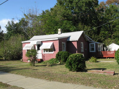 Exmore VA Single Family Home For Sale: $34,800