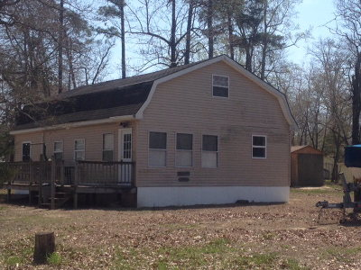Horntown VA Single Family Home For Sale: $125,000