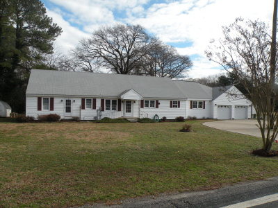 Franktown VA Single Family Home For Sale: $179,900