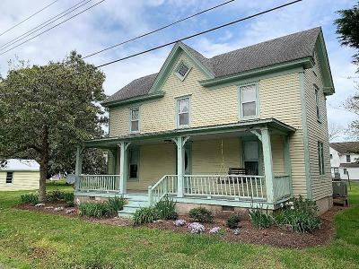 Wachapreague Single Family Home For Sale: 7 Church St