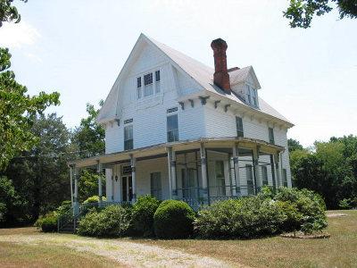 Accomack County, Northampton County Single Family Home For Sale: 23448 Back St