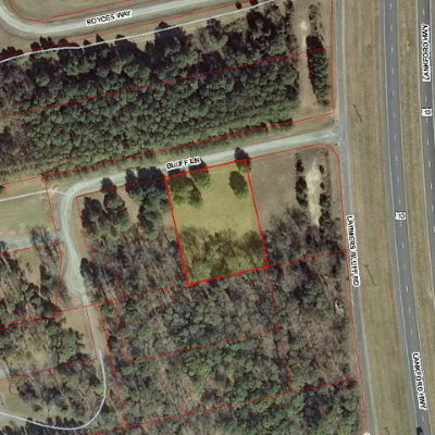Cape Charles, Capeville, Kiptopeke, Cheriton Residential Lots & Land For Sale: 000 Bluff Lane