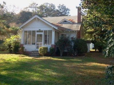 Northampton County Single Family Home For Sale: 7810 Seaside Rd