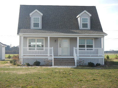 Cape Charles VA Single Family Home For Sale: $186,900
