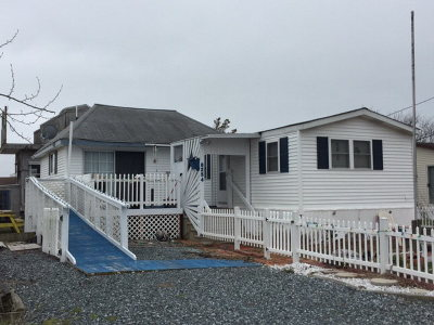 Chincoteague VA Single Family Home For Sale: $94,500