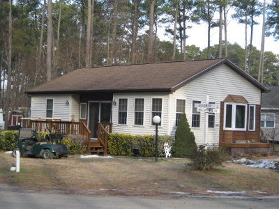Horntown VA Single Family Home For Sale: $84,900