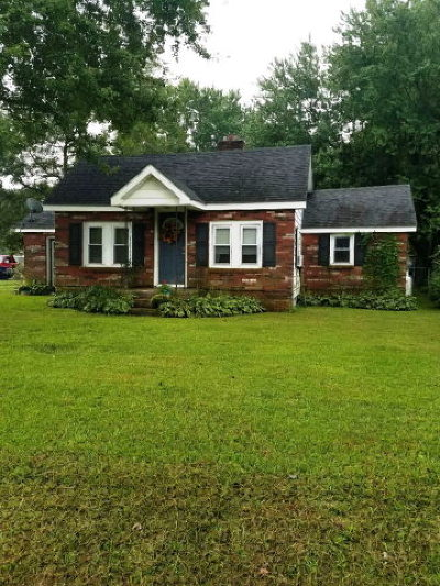 Hallwood VA Single Family Home For Sale: $95,000