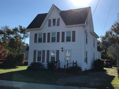 Chincoteague VA Single Family Home For Sale: $229,500