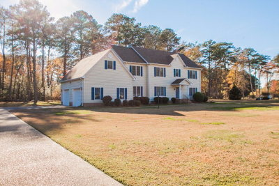 Accomack County, Northampton County Single Family Home For Sale: 16384 Red Bank Ln