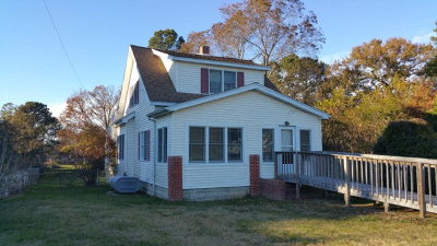Bloxom VA Single Family Home Under Contract/Continue To Sho: $79,990