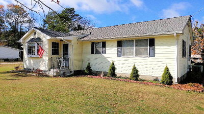 Willis Wharf VA Single Family Home For Sale: $159,900