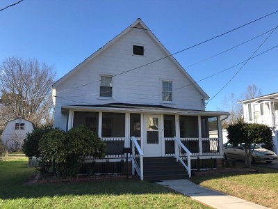 Onancock VA Single Family Home For Sale: $125,000