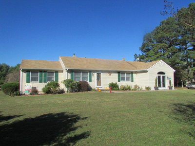 Pungoteague VA Single Family Home For Sale: $189,000