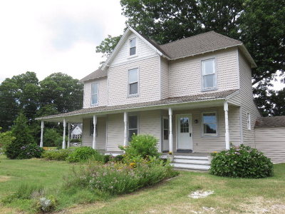 Parksley VA Single Family Home For Sale: $167,000