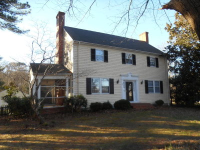 Exmore VA Single Family Home For Sale: $132,500