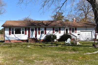 Chincoteague VA Single Family Home For Sale: $195,000