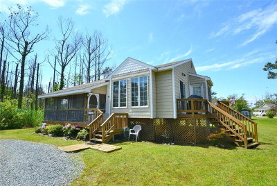 Chincoteague VA Single Family Home For Sale: $239,500