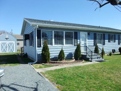 Chincoteague VA Single Family Home Under Contract/Continue To Sho: $185,000