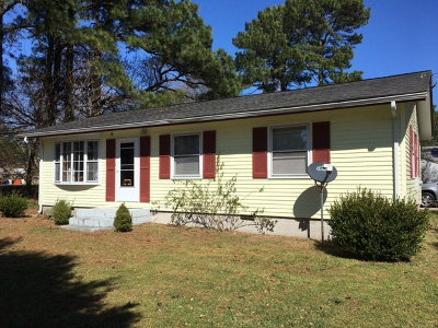 Exmore VA Single Family Home For Sale: $97,500