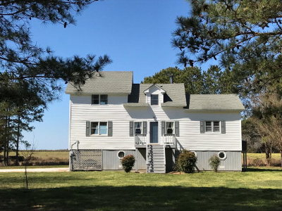 Northampton County, Accomack County Single Family Home Under Contract/Continue To Sho: 35684 Occohannock Dr