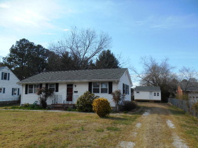 Onancock VA Single Family Home Under Contract/Continue To Sho: $154,500