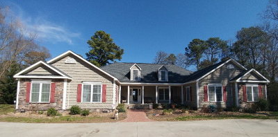 Single Family Home For Sale: 5356 Chesawadox Dr