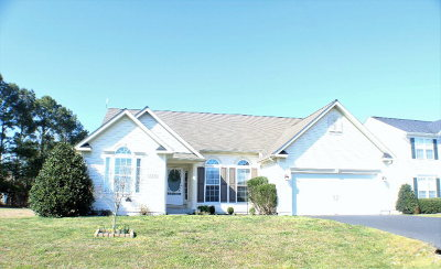 Greenbackville VA Single Family Home Under Contract/Continue To Sho: $209,000