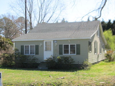 Onancock VA Single Family Home For Sale: $74,900