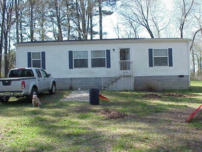 Parksley VA Single Family Home For Sale: $114,900