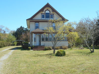 Cape Charles VA Single Family Home For Sale: $165,000