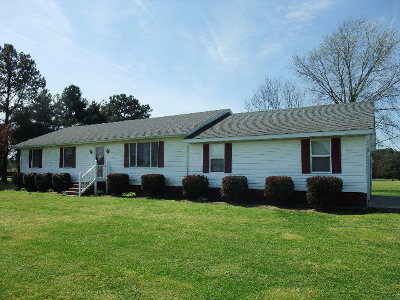 Atlantic VA Single Family Home For Sale: $164,500
