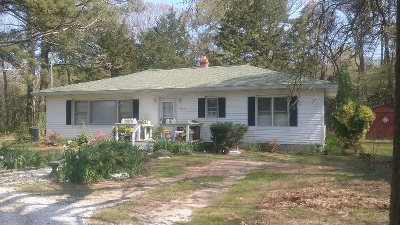 Parksley VA Single Family Home For Sale: $155,000