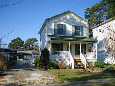 Chincoteague VA Single Family Home Under Contract/Continue To Sho: $198,900