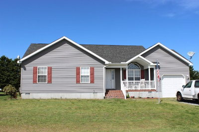 Greenbackville VA Single Family Home Under Contract/Continue To Sho: $154,900